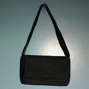 Talbots black shoulder Style #9208 purse
